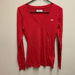 Hollister red T-shirt NWOT size s